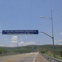 Entrada da Ponte dos Imigrantes Nordestinos