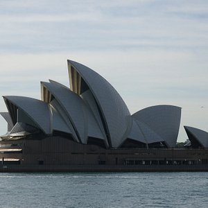 From the Bus - Sydney Opera House