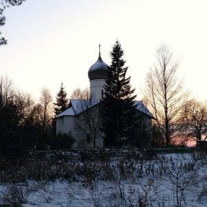 Церковь Благовещения Пресвятой Богородицы на Мячине
