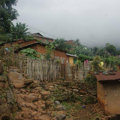Village durant la montée
