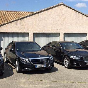 Notre Flotte de véhicule Grand luxe à disposition