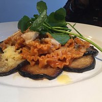 Tripoline with peppers and aubergine