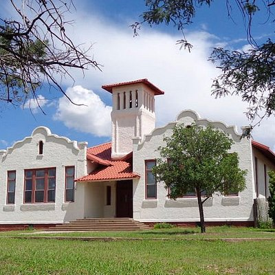 The old school house, built in 1914.