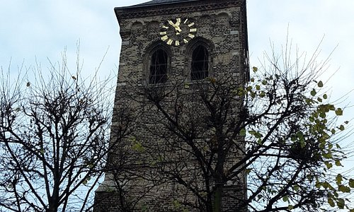 big tower of the chapel
