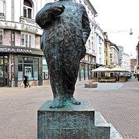 Statue of Stjepan Radic