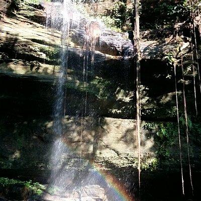 Cachoeira Ecológica na Fazenda Ecológica