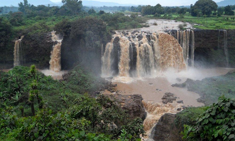 Blue Nilles Falls, Bahir Dar