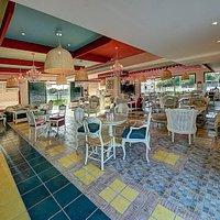 Interior of Cafe Mandarina