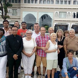 french group by udaipur voyage