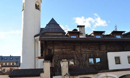 Cimitero e Chiesa della Parrocchia di San Candido