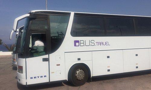 Bus travel coach