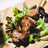 Spada di Filetto marinata alla Salsa BBQ