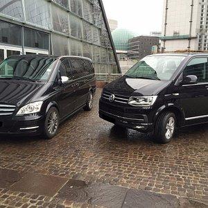 Comfortable 8 seaters luxury vans