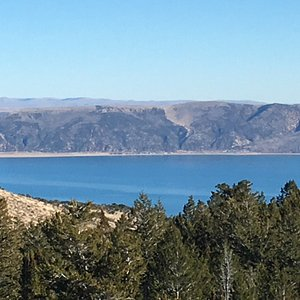 Bear Lake on a beautiful November afternoon. Absolutely breathtaking!