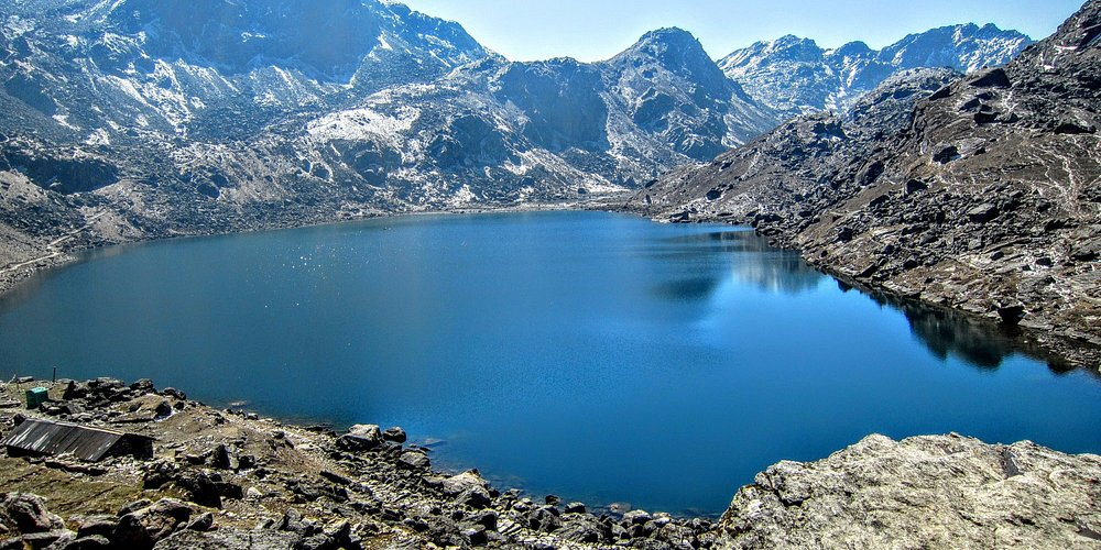 Gosaikunda aka the holy lake at Langtang National Park which is located at the altitude of 4380m