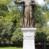 Monument of Medieval Bulgarian Tzar Samuil