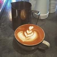 The best latte art around!