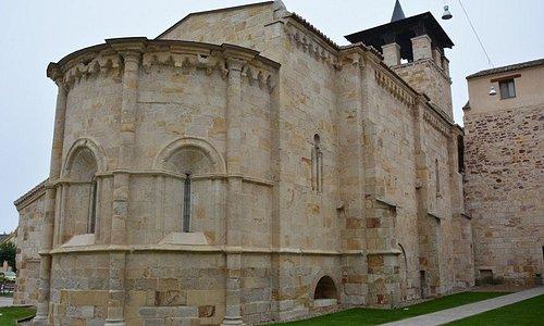 Santa María de la Horta (Zamora) Exterior desde el ábside