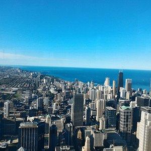 Vista su Chicago