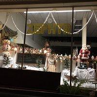 Christmas storefront