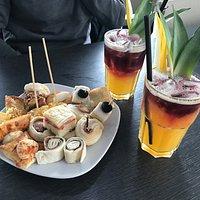 il cocktail analcolico della casa con free buffet