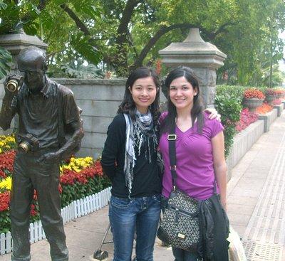 guangzhou private tour guide julia