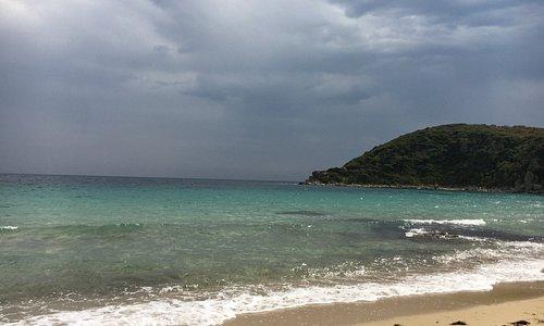 Даже при респокойном море место отличное!