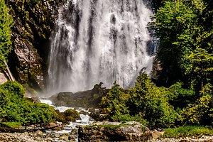 Chatterbox falls , Princess Louisa Inlet