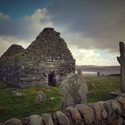 Ardnave Chapel and Cross