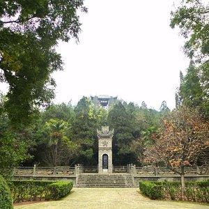 Tombe du general He Qubingon on ne visite que la butte
