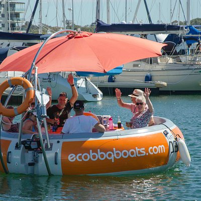 10 seater Eco BBQ Boat