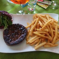 Angus Burger and French Fries