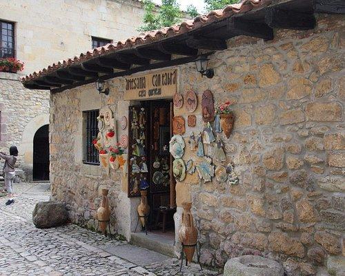 An souvenir shop