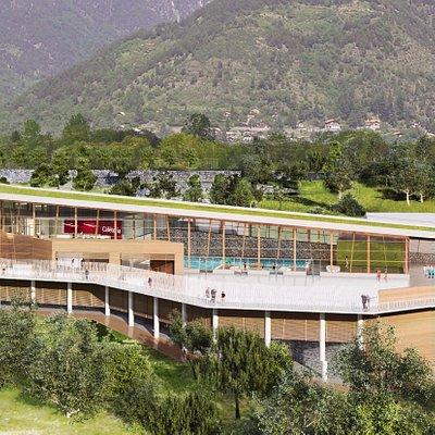 Modèle architecture - Vesubia Mountain Park