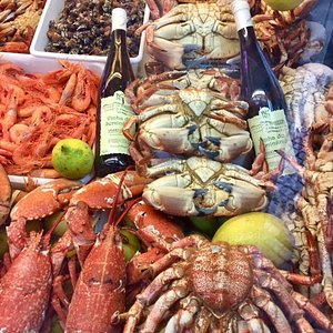 The bounty of the sea.