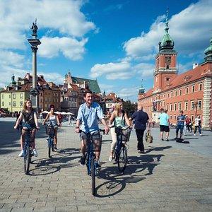 Wow Warsaw bike tour