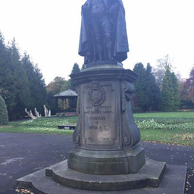 George Frederick Samuel Statue Ripon