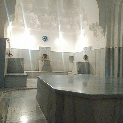 Inside women´s hamam room
