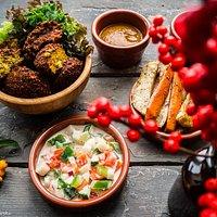 Delicious seasonal autumn falafel set <3
