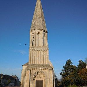 facade de l'église