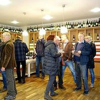 Weinverkostung beim Leopoldigang
