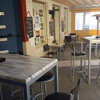Terraza Invierno Area Pub Cafe & Copas.