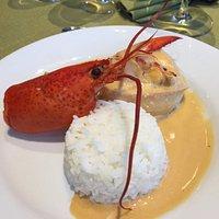 Filet de sole sauce homard..un régal