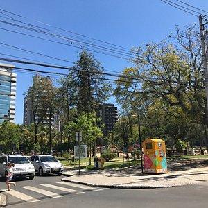 cruzamento das ruas Santo Antonio e Rio Branco