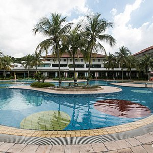 The Funpool at the Orchid Country Club