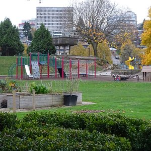 Playground Area at Park