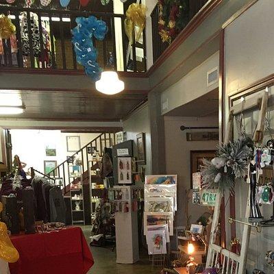Inside of Artisan Fair