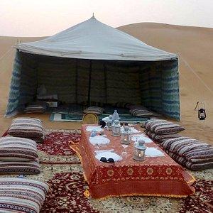 PRIVATE DESERT SAFARI WITH DINNER