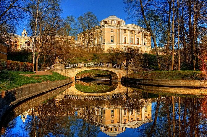 Grand Palace of Paul I in Pavlovsk, Russia