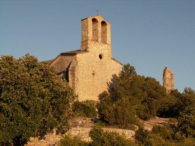 Kapelle von Vilademager in der Abendsonne.In welchem Format wünschen Sie die Bilder, allenfalls